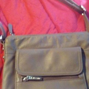 Giannini leather crossbody purse